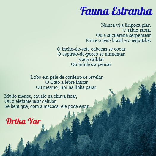 Fauna Estranha - Drika Yar