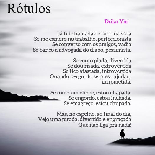 Rótulos - Drika Yar